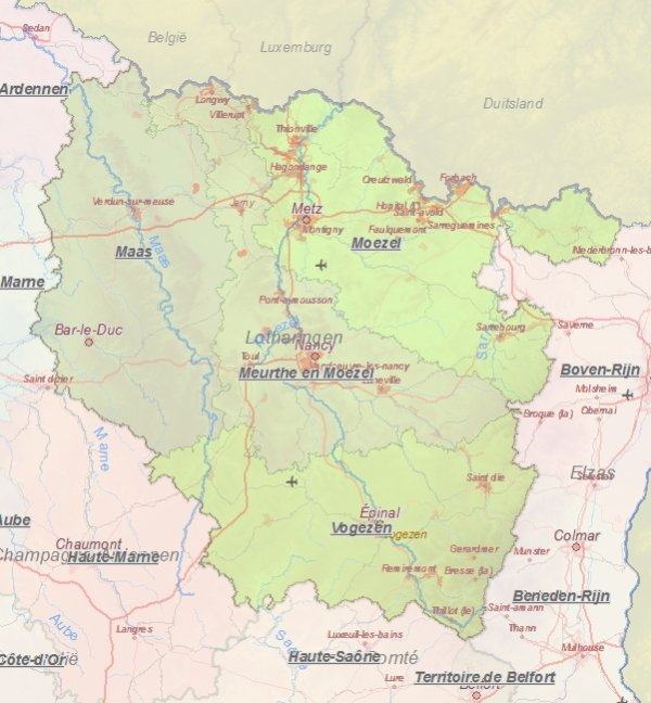 Lothringen Karte.Karte Von Metz Frankreich Landkarte Und Plane